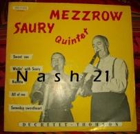 -   Disque De Jazz  - 33 Tours L.P. - Mezzrow Saury Quintet - Jazz