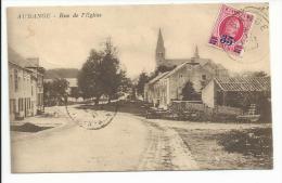 AUBANGE (luxembourg ) Rue De L'église - Cartes Postales