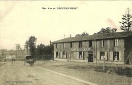 Une Vue De DROITAUMONT (caf-restaurant) - Ed. Kalmann-Daltroff - France