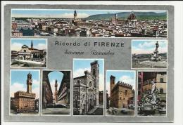 CARTOLINA DI FIRENZE VARIE VEDUTE MOLTO BELLA - Firenze