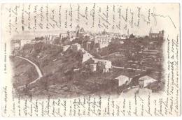 Dépt 07 - AUBENAS - Route De Vals - (timbre Enlevé) - Aubenas
