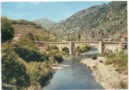 Dépt 07 - CHALENCON - (CPSM Grand Format) - Les Gorges De L'Eyrieux, Le Pont De Chervil - France