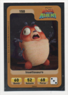 Sor111 Carta Da Gioco, Esselunga, Dreamworks Animation, Cartoni Animati, Mostri Contro Alieni, Insettosauro, N.150 - Trading Cards