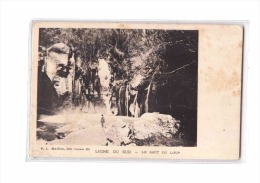 06 GORGES DU LOUP (envs Bar Sur Loup) Saut Du Loup, Cachet Hotel Du Loup, Ed Maillan PLM 261, Dos 1900 - France
