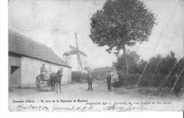 Aalst--alost-un Coin De La Chaussée De Moorsel-moolen-moulin-top Carte - Aalst
