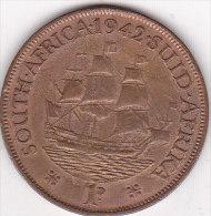 Afrique Du Sud 1 Penny 1942 - Afrique Du Sud