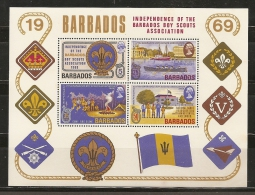 SCOUTS - BARBADOS 1969 - Yvert #H2 - MNH ** - Movimiento Scout