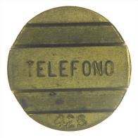 TOKEN GETTONE TELEFONICO ARGENTINA TELEPHONE - Gettoni E Medaglie