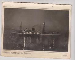 CPM DEPART NOCTURNE DU CYRNOS - Dampfer