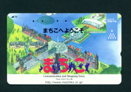 JAPAN - Magnetic Phonecard As Scan (110-016) - Japan