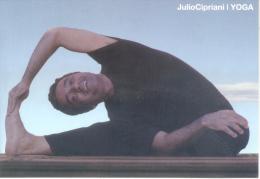 JULIO CIPRIANI YOGA CARTE PUBLICITAIRE ARGENTINA AÑO 2013 - Health