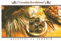 CPM RECETTE CUISINE DU TERROIR CANELES BORDELAIS - Recipes (cooking)