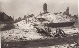 CP Photo Janvier 1917 ROCQUIGNY (près Bertincourt) - Le Village En Ruine (A29, Ww1, Wk1) - Unclassified