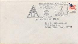 USA  -  CHICAGO  '80  -  COMMEMORATES  75th Anniversary   ROTARY INTERNATIONAL - Rotary, Lions Club