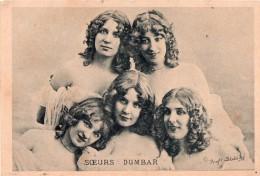 Cpa  Les Soeurs DUMBAR, Pr Stebbing (20.39) - Artisti