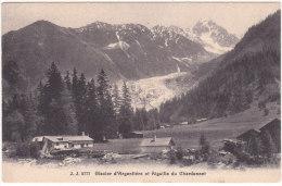 J.J.  2777   Glacier  D´Argentière  Et  Aiguille  Du  Chardonnet - Chamonix-Mont-Blanc