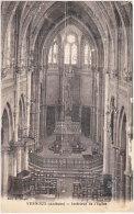 07. VERNOUX. Intérieur De L'Eglise - Vernoux