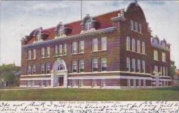 Illinois Aurora West Side High School 1906