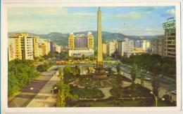 3pk654: Plaza Altamira  Hacia El Sur > Ixerlles Belgica   Por Avion... - Venezuela