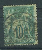 VEND TIMBRE DE FRANCE N° 65 , CACHET PARIS - R. DES VLLES HAUDRTES !!!! - 1876-1878 Sage (Type I)