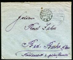 A1925) DR Infla Brief Mit Barfreimachung Von Gotha 26.8.1923 Nach Bad Berka !! - Briefe U. Dokumente