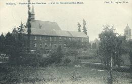 Mollem / Molhem - Pensionnat des Ursulines - Vue du Pensionnat Sud-Ouest - 1908  ( verso zien )
