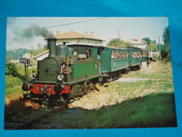 33) Maransin - N° 84/59 - Le Train à Vapeur  - Grand Format - Ligne Guitres - Marcenais   - Année  -  EDIT - Ducom - France