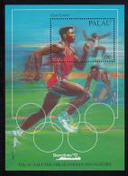 Palau Scott #307 MNH Souvenir Sheet 50c Carl Lewis - Barcelona Olympics - Palau