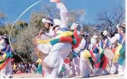SEOUL  (Coree Du Sud)  DANSE TRADITIONNELLE DES FERMIERS - Tänze