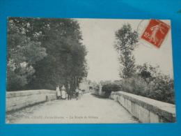 79) Chizé - N° 399 - La Route De Brioux   - Année 1918 - EDIT - Lousteau - France