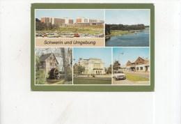 ZS34258 Schwerin Und Umgebung Car Voiture      2 Scans - Schwerin