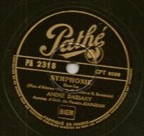 """78 Tours Aiguille COLUMBIA 1947 """" QUAND LA GUITARE CHANTE""""+ """"MON COEUR Est Au BOUT Du MONDE"""" Tino ROSSI - 78 G - Dischi Per Fonografi"""