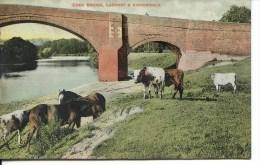 CUMBRIA - EDENBRIDGE, LAZONBY & KIRKOSWALD 1910 Cu782 - Cumberland/ Westmorland