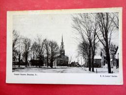 - Vermont >    Brandon Conant Square     Not Mailed ---  Ref 976 - United States