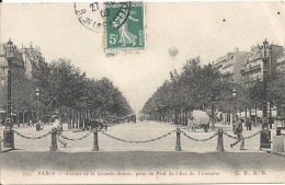 PARIS  - 75 - Avenue De La Grande Armée, Prise Au Pied De L´Arc De Triomphe  - 230513 - Panoramic Views