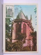 CARTE PREMIER JOUR - 19-6-1971 - (63) - LA SAINTE CHAPELLE DE RIOM - Riom
