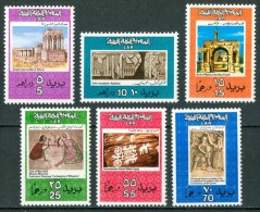 1972 Libia Archeologia Archeology Archèologie Set MNH** R - Libye