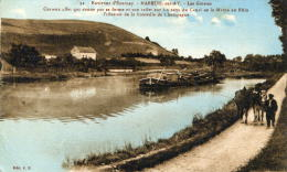 MAREUIL SUR AY - MARNE  (51) - PEU COURANTE CPA ANIMEE. - Mareuil-sur-Ay
