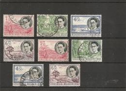 Congo Belge ( 329/36 Oblitérés) - 1947-60: Used