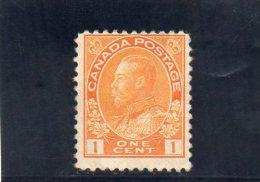 CANADA 1918-25 * DEFECTEUX - 1911-1935 Règne De George V