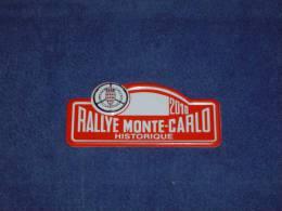 "Petite Plaque Rallye ""MONTE CARLO HISTORIQUE"" 2010 - Plaques De Rallye"
