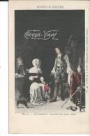 Publicité CHOCOLAT VINAY - Musée Du Louvre - Metsu - Un Militaire Recevant Une Jeune Dame - Werbepostkarten