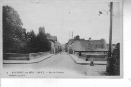 Postcard --France --Franche --Bretagne-- MONTFORT_SUR_MEU-- Rue De Coulon - Bretagne
