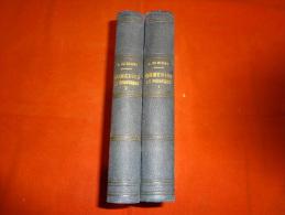 Livre - 2 Tomes - Alfred De Musset - Comédies Et Proverbes - 1867 - Libri, Riviste, Fumetti