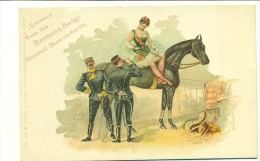 CIRQUE/ Souvenir From The Barnum & Bailey Greatest Show On Earth (COULEUR) VOLTIGE/ ACROBATE/CHEVAL - Cirque