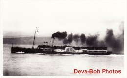 Ship Photo Paddle Steamer PS Marchioness Of Breadalbane - Boats