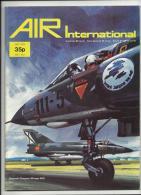 AIR INTERNATIONAL - JULY 1974 - VOL 7 - N.º 1 - See Scans And Description - Revistas & Periódicos