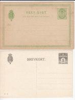 1971. Denmark, 2 Postal Stationery - Interi Postali