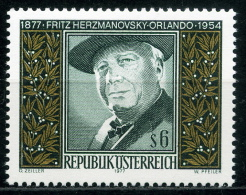 Österreich - Michel 1547 - ** Postfrisch - Fritz Herzmanovsky-Orlando - Wert: 1,30 Mi€ - 1945-.... 2nd Republic