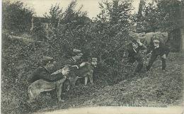 Nos Douaniers à La Frontière ... - Une Embuscade - Fraudeurs Attendus -1910 ( Voir Verso ) - Douane